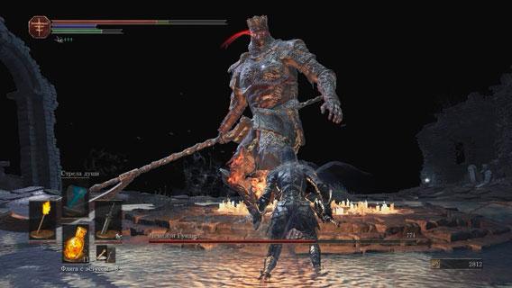 Тактика прохождения Чемпиона Гундира в игре Dark souls 3