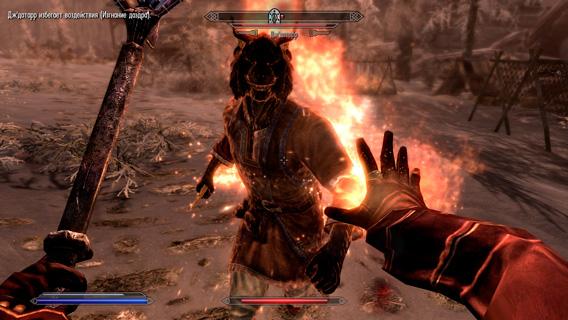 Прокачка навыков и уровней в The Elder Scrolls 5: Skyrim