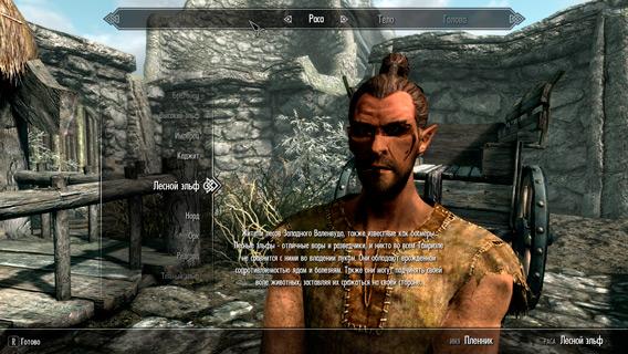Расы и их особенности в The Elder Scrolls 5: Skyrim