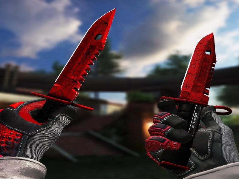 Штык-нож М9 / Crimson Web