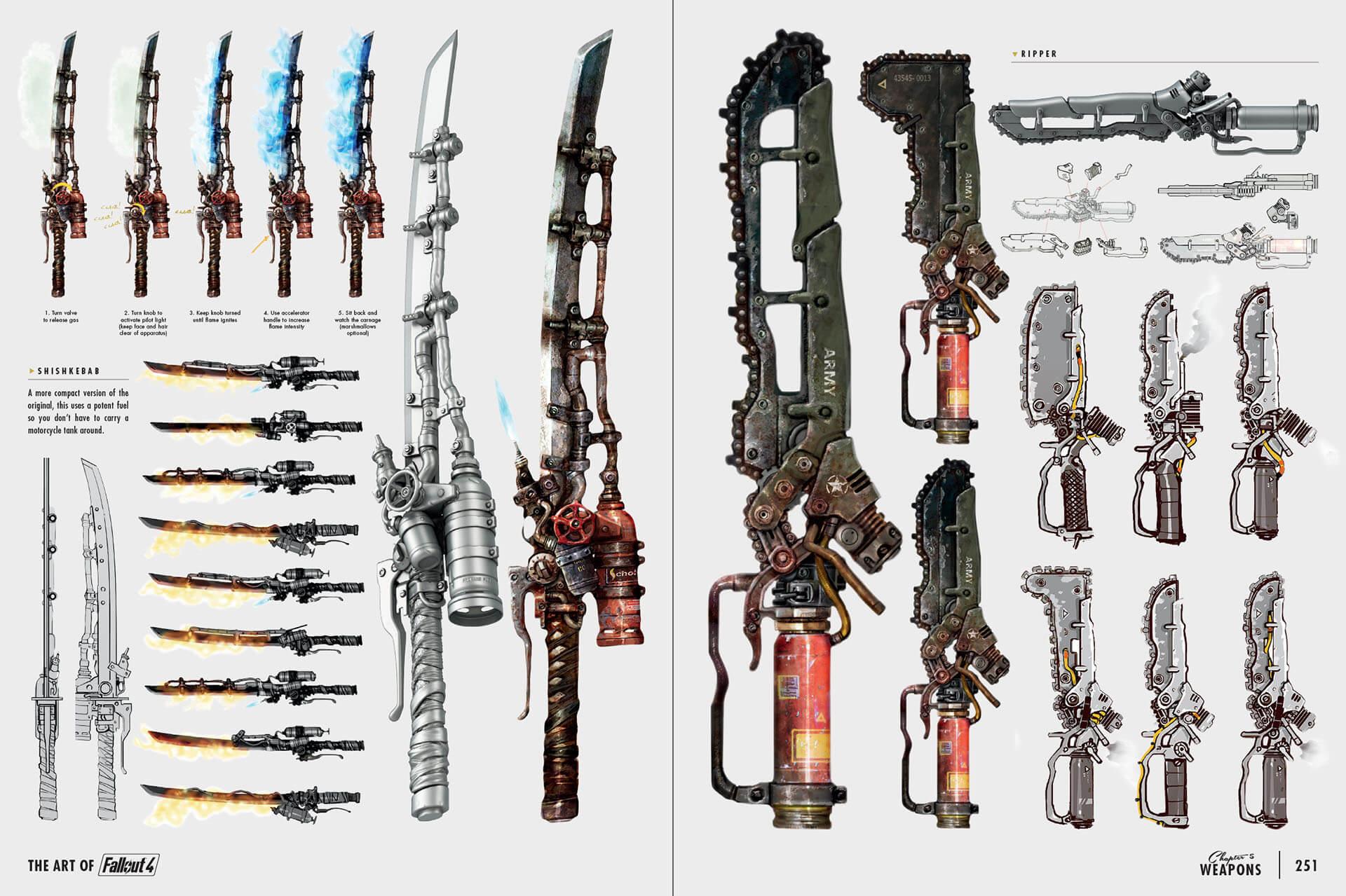 Оружие ближнего боя в fallout 4