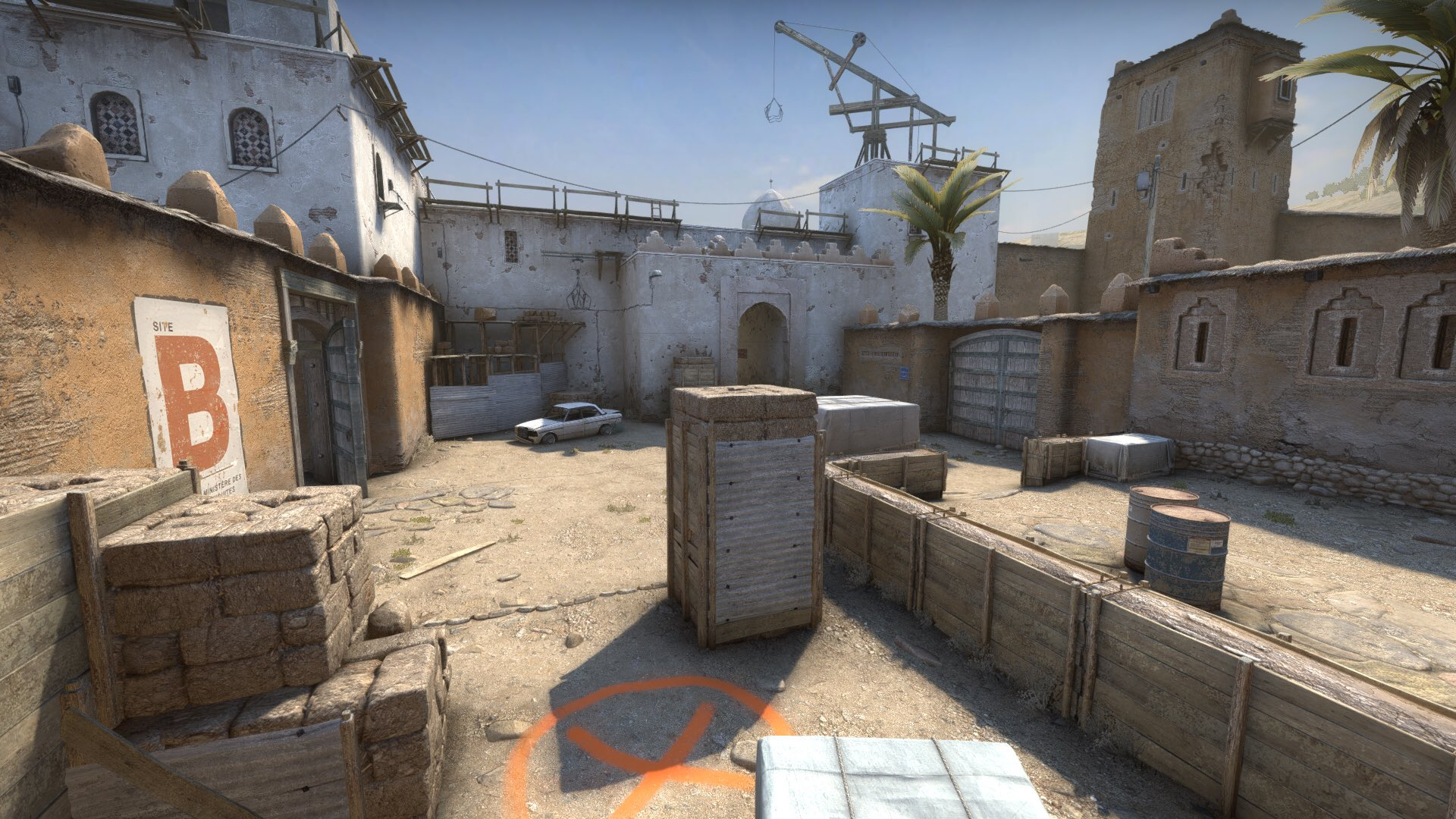 Карта de dust2 из csgo 1